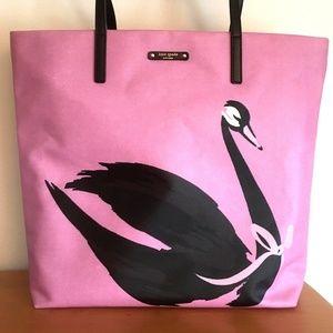 6be1165d0 kate spade Bags - Kate Spade Swan Around Bon Shopper Tote Bag